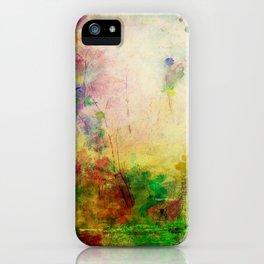Ginkelmier Land ~ Watercolor Fairy Garden iPhone Case