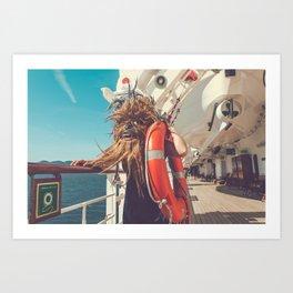 Mary Celeste Pt II Art Print