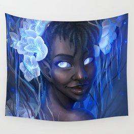 Winter Goddess Wall Tapestry