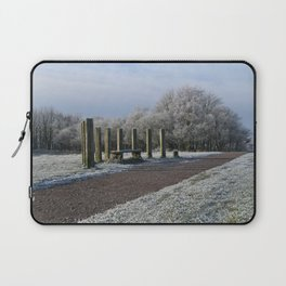 White Chasewater Country Park Laptop Sleeve
