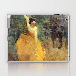 """Henri de Toulouse-Lautrec """"The Spanish Dancer"""" Laptop & iPad Skin"""
