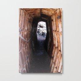 War Bunker Metal Print