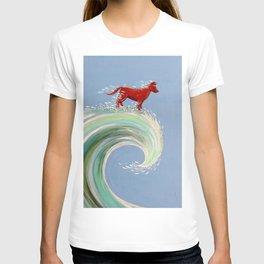 Surfing Kelpie T-shirt