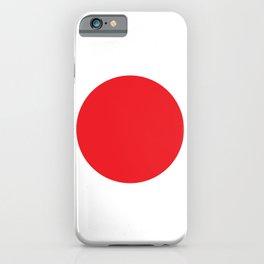 Japan Flag iPhone Case