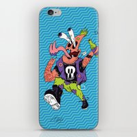 patrick iPhone & iPod Skins featuring Patrick by Liam Woodruff