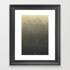War Never Changes - Fallout 4 Framed Art Print
