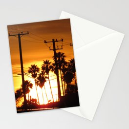 Pacific Coast Highway Sunset Stationery Cards