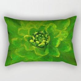 Leaf Explosion Rectangular Pillow