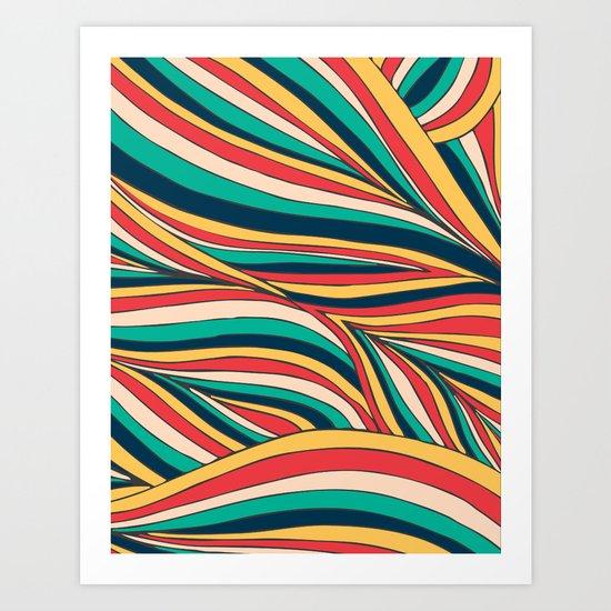 Retro Movement Art Print