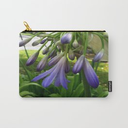 Purple Agapanthus Carry-All Pouch
