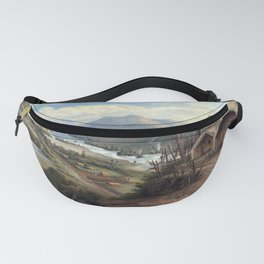 Charles Blomfield Orakei Korako on the Waikato Fanny Pack