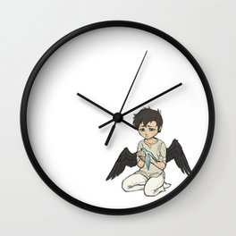 Too Much Heart | w/ text Wall Clock