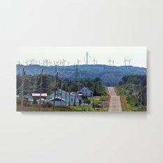Turbine Hill Metal Print