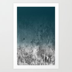 PLANET SERIES — ONE Art Print