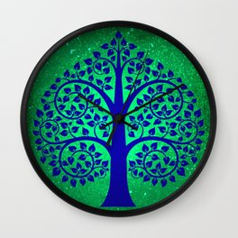 Bodhi Tree0108 Wall Clock
