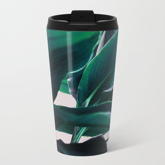 Leaves 4 Metal Travel Mug