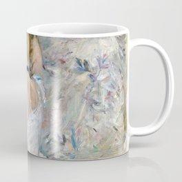 Berthe Morisot - Woman at Her Toilette - Digital Remastered Edition Coffee Mug
