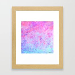 First Love - Original Abstract Art by Vinn Wong Framed Art Print