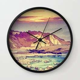 Sunset at Yuke Wall Clock