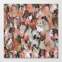 Abstract Confetti Landscape Peach by laurenwdesign