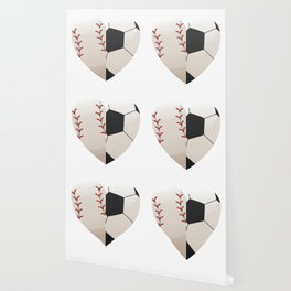 Soccer Baseball Heart Mom - Mothers Day Gifts Wallpaper