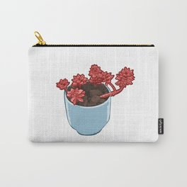 Beautiful Succulent Plant Carry-All Pouch