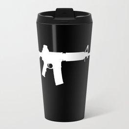 AR-15 (on black) Travel Mug
