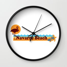 Navarre Beach - Florida Wall Clock