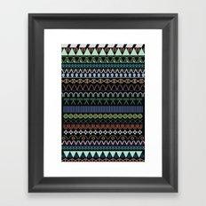 hitam tatam Framed Art Print