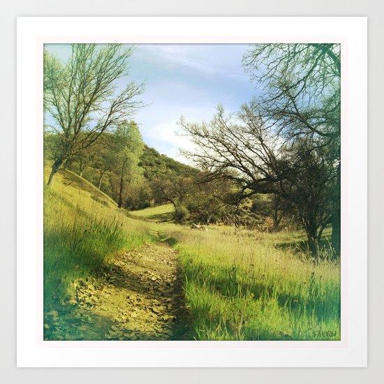 Land3 Art Print