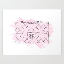 Pink bag #5 Art Print