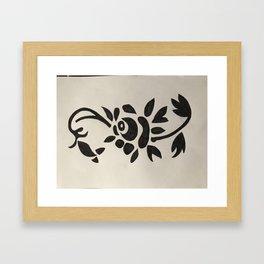 Lieve vallentyn Framed Art Print