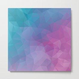 Colorful geometric design Metal Print
