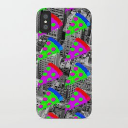 Pizza Invasion NYC iPhone Case