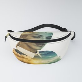 Lost In A Landscape Dream (Portrait) Fanny Pack