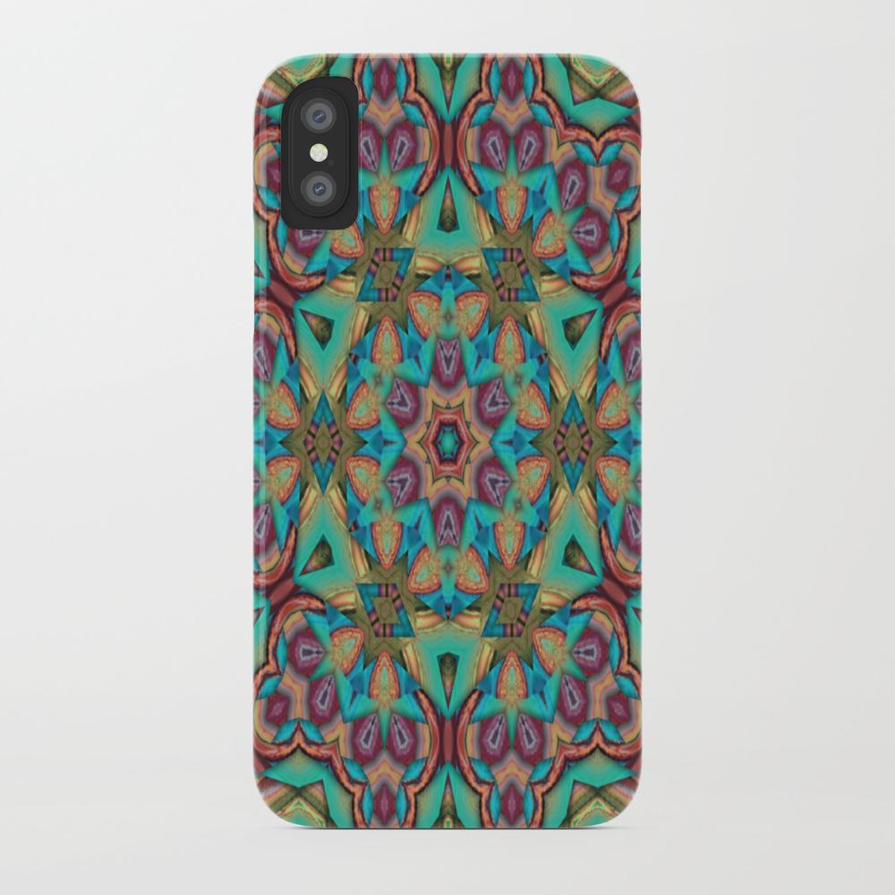 Vibrant Pattern Phone Case by Key2myart PCS8922214