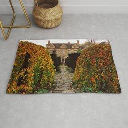 Barnsley House In Autumn Rug