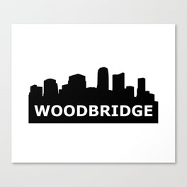 Woodbridge Skyline Canvas Print