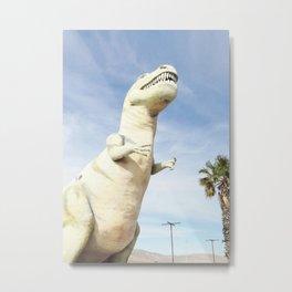 Cabazon Dinosaur Metal Print