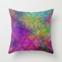 christ Throw Pillows featuring Christ by RingWaveArt