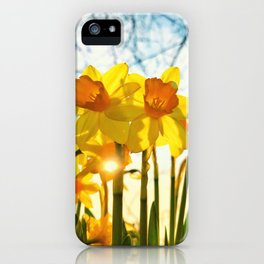 intence yellow iPhone Case