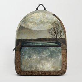 Supermoon Arrival - full moon Backpack