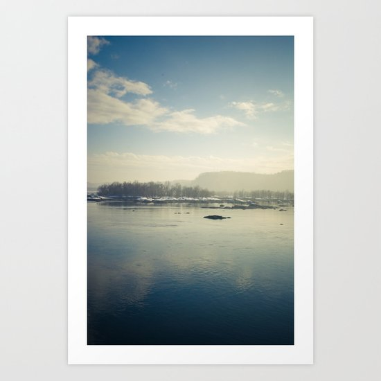 calm Art Print