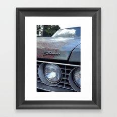 Gran Torino Vintage Framed Art Print