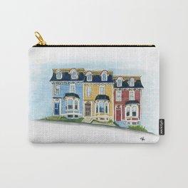 Jellybean Row - Newfoundland houses, buildings Carry-All Pouch