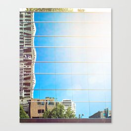 on reflection: bright. Canvas Print