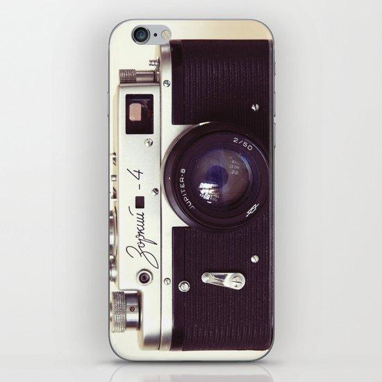 Zorki vintage camera iPhone & iPod Skin