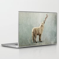 howl Laptop & iPad Skins featuring howl by Seamless