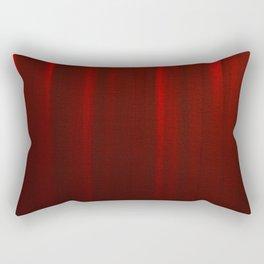 Behind the Red Curtain Rectangular Pillow