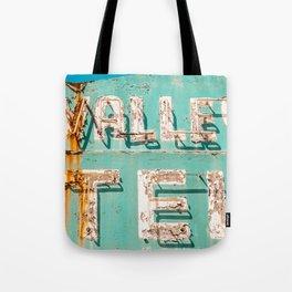 Valley Tel Tote Bag